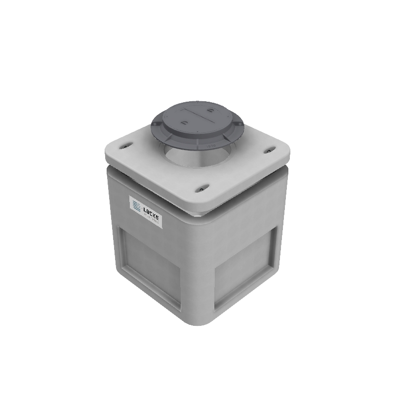 4x4x4 Electrical Pull Box - Locke Solutions