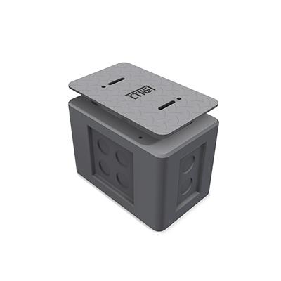 1x2x2 Precast Concrete Type 1 Ground Box