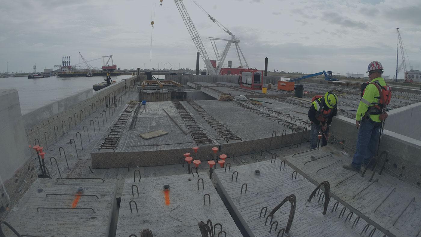 Precast Concrete Dock System Locke Solutions